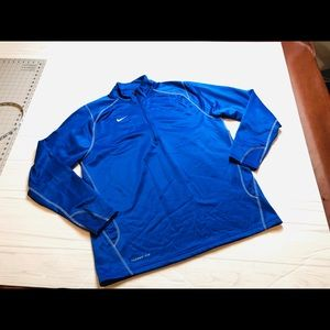 Nike 1/4 Zip Pullover Therma Fit XL Jacket